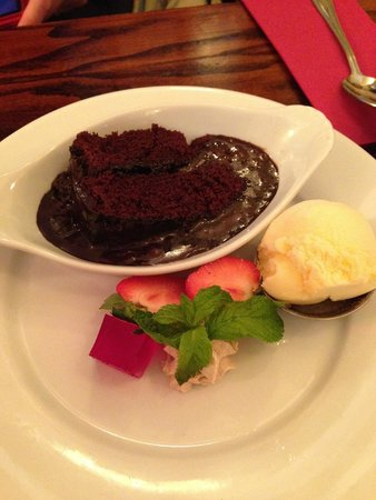 The Waterfront : Molten Chocolate