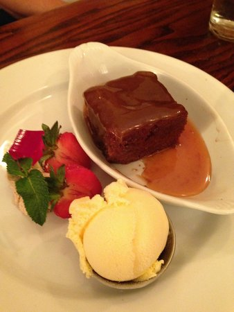 The Waterfront : Toffee Pudding