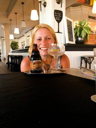 Taste of Belgium Restaurant: Diferentes variedades de cervezas