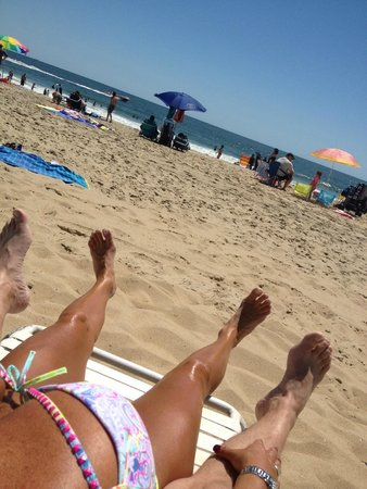Hilton Suites Ocean City Oceanfront: All Day At The Beach