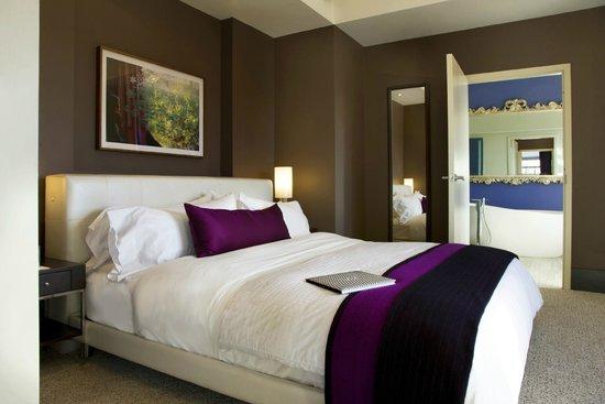 W Washington DC : EWOW Bedroom