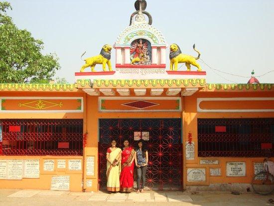 Ghagar Buri Chandi Temple: TEMPLE ENTRANCE