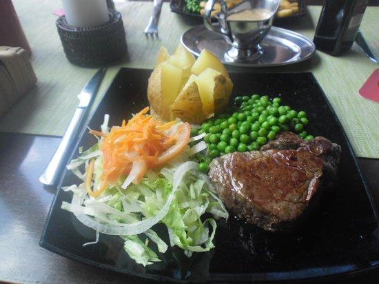 Smithy's Restaurant : Great steak!