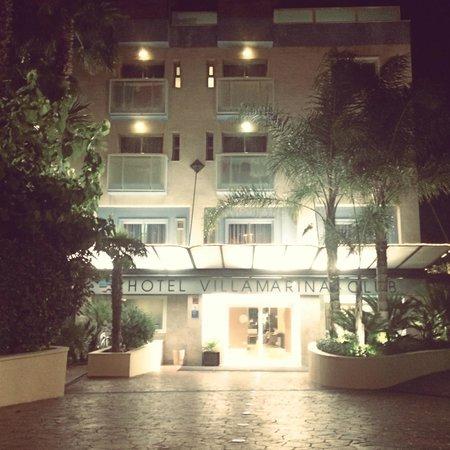 Hotel Villamarina Club: Entrance