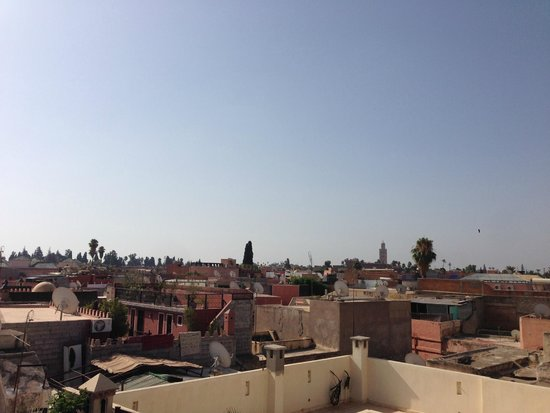 Riad Gallery 49 : rooftop view