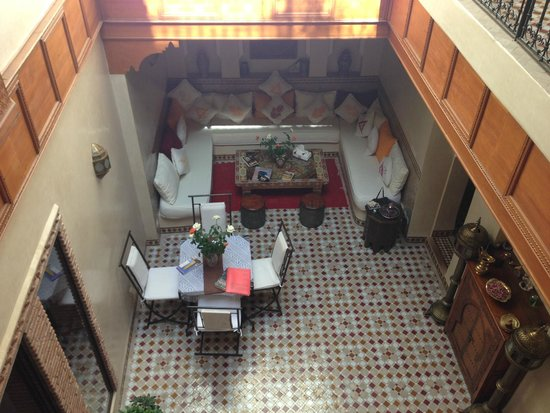 Riad Gallery 49 : view from balcony
