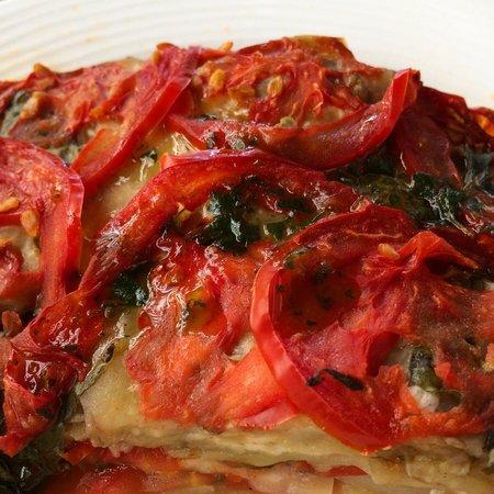 Il Desco Bistro : Amazing eggplant meillefeuille
