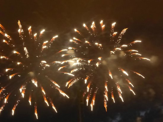 Fairmont Chateau Laurier: Canada Day Fireworks!!!
