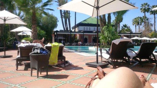 La Mamounia Marrakech : piscine