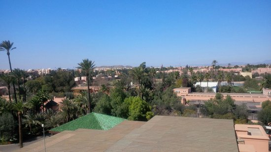 La Mamounia Marrakech: Vue de la chambre