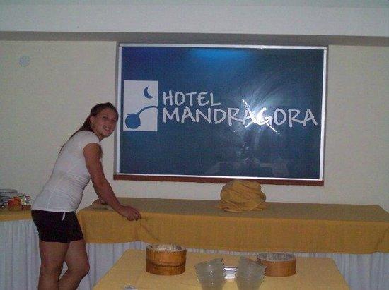 Hotel Mandragora: Comedor
