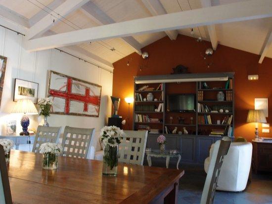 Hotel Quinta de San Amaro: Biblioteca