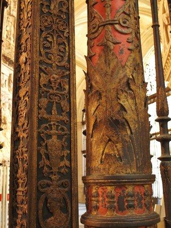 Catedral de Burgos: Detalles de los barrotes