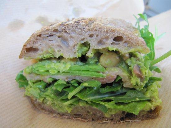 Smag: laks sandwich