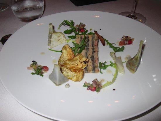 La Mere Brazier : Foie Gras & Atichoke
