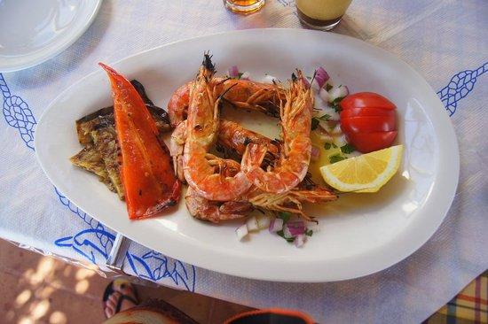 Taverna Kalomirakis Family : Delicious shrimps