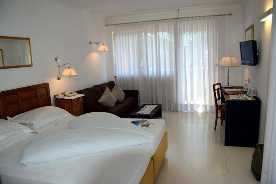 Hotel Garni Aster: unser Zimmer