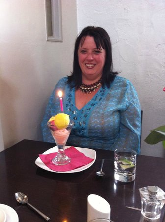 New Moon Restaurant : A birthday surprise