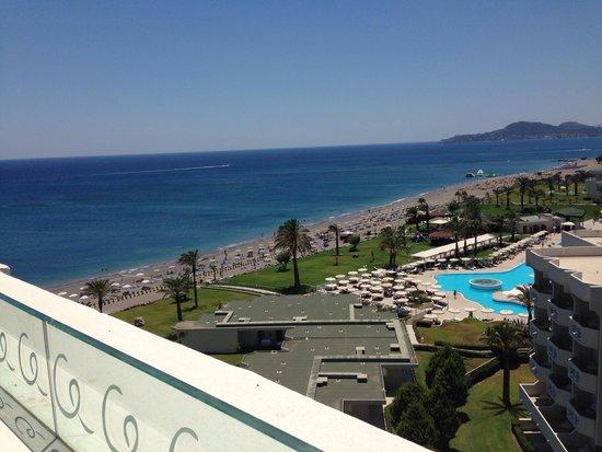 Mitsis Alila Resort & Spa: Вид из номера 609