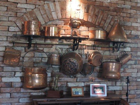 Lá em Casa Restaurante: Decoração