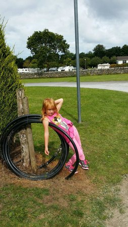 Fleming's White Bridge - Caravan & Camping Park: lovely day at fleming's killarney