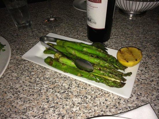 The Capital Grille: Asparagus