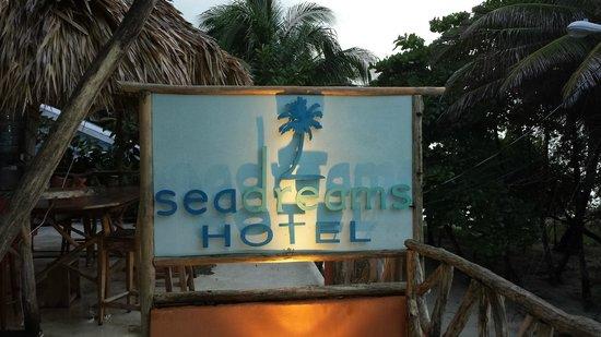 Sea Dreams Hotel: The sign