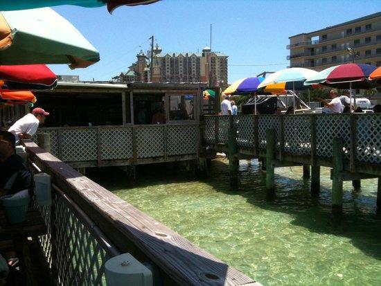 Dewey Destin's: Dewey Destin at Crab Island