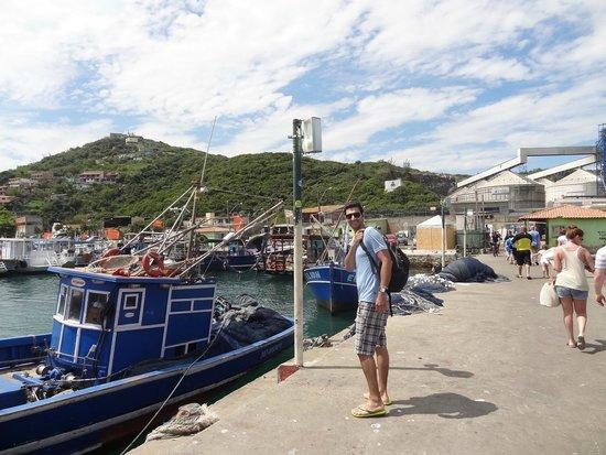 Cabo Frio House of History : puerto para enbarcar