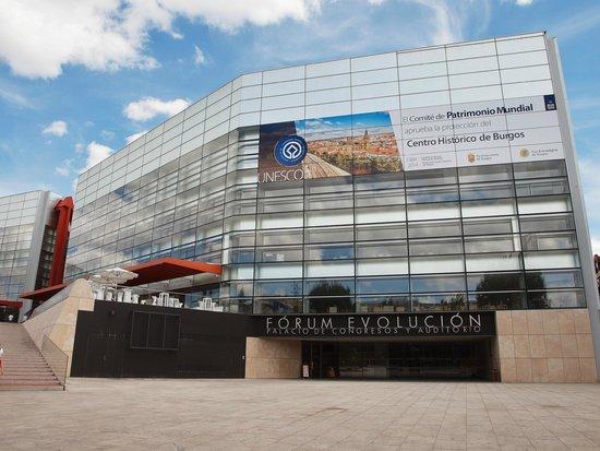 Museo de la Evolución Humana: Vista exterior