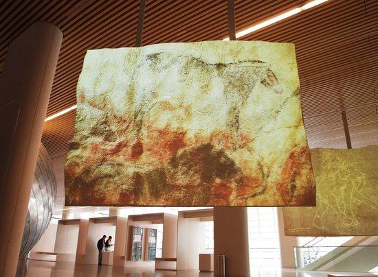 Museo de la Evolución Humana: Panel interior