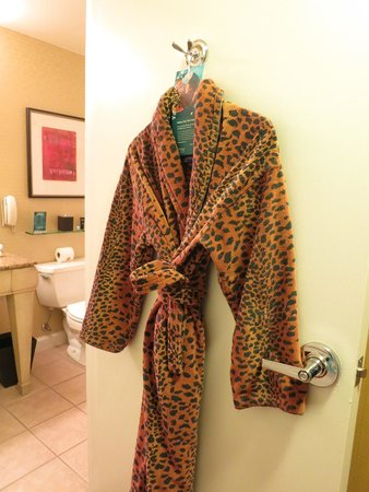 Kimpton Hotel Monaco Chicago: Bathrobe - no comment!