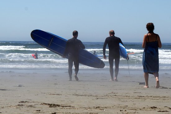Pacific Surf School: Surfing at Cox Bay