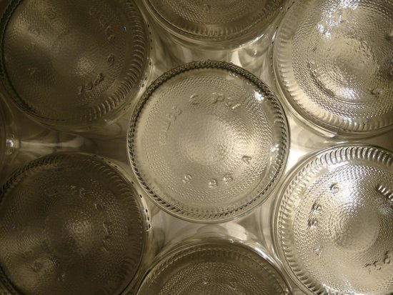 Cave Eric Louis - Vins de Sancerre : Cul de bouteilles éclairés