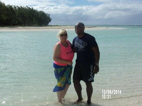 Beachcomber Le Mauricia Hotel : Beach I'll aux de cerfs