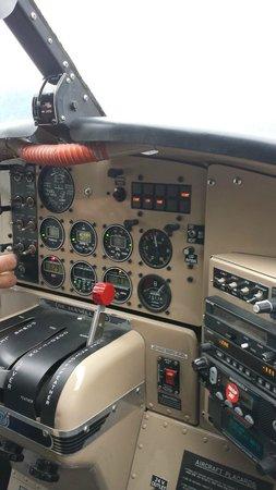 Wings Airways - Float Plane Tours (Taku Glacier Lodge Flight & Feast): I rode in the co-pilot seat on the return trip