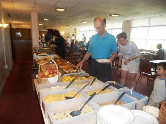 Franciscan Guest House : Continental buffet included with room