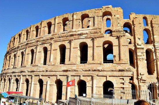El Jem Amphitheatre : Amfiteatr