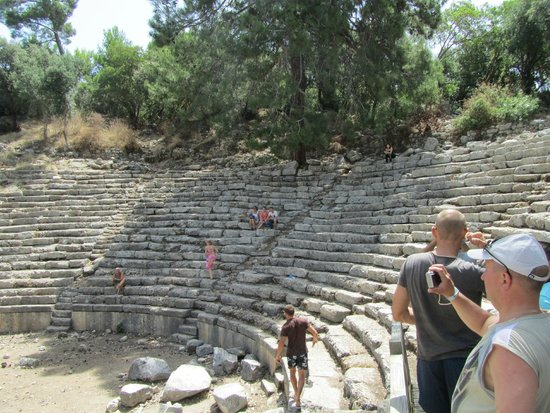Phaselis Antique City: het amfitheater