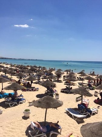 Samira Club: stranden ved Samir Club