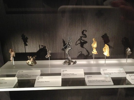 Yale Peabody Museum of Natural History : Metals and things.