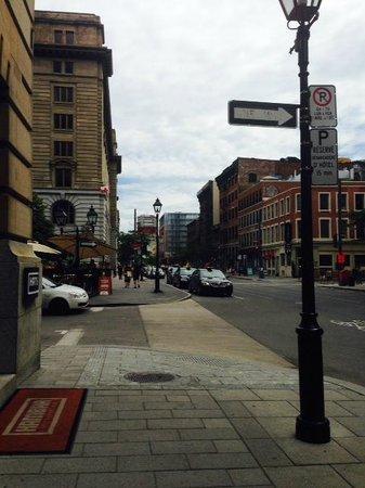 Hotel St Paul: Hotel corner