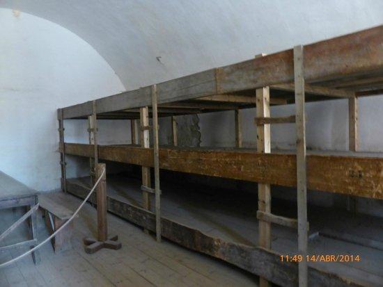 Terezín Memorial: Literas prisioneros