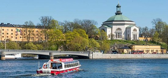 Stockholm Red Boats - Hop On Hop Off