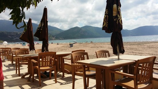 Marina di Lava: Vue depuis le restaurant