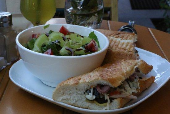 The Green Bean: Sandwich