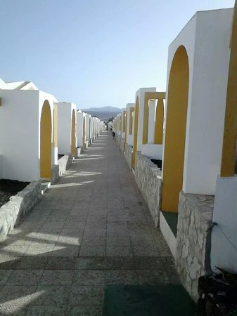 Club Caleta Dorada : the walk to the pool