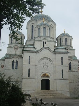 Oplenac: the church with tombs