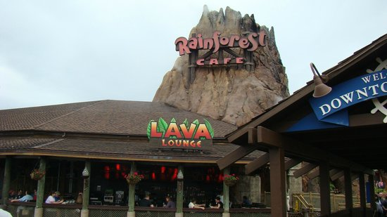 Disney Springs: RAIN FOREST CAFE