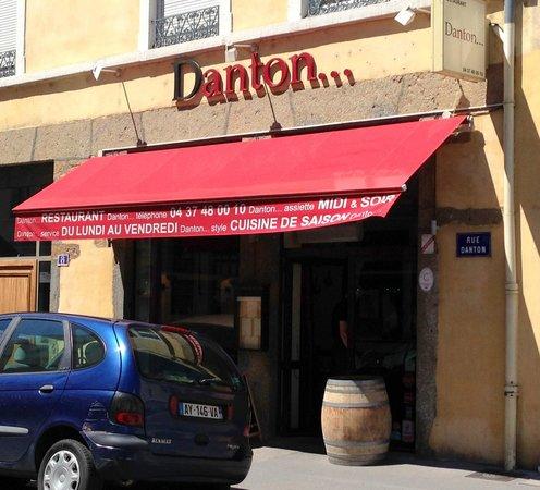 Danton...restaurant : la façade
